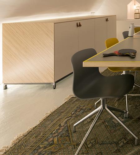 Creative meeting room, Utrecht, NL