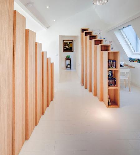 Bibliothèques, Andrea Mosca Creative studio, FR<br