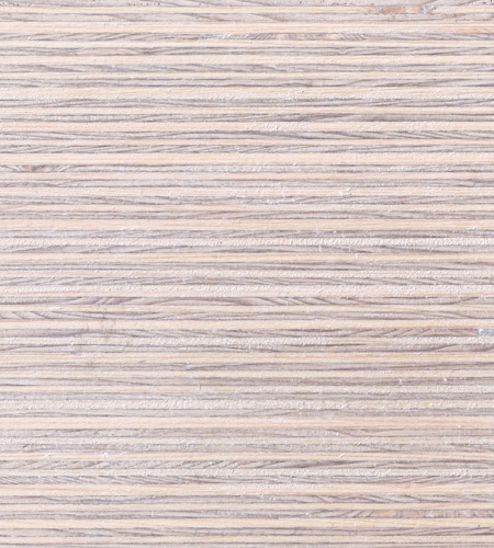 Plexwood® Deal white wash coloured chalk wax finish, for natural surface colourations
