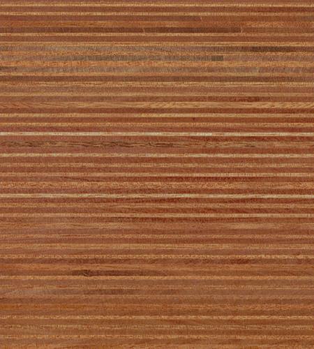 Plexwood® Ocoumé oil/wax finish, natural coloured green fineline surfacing veneer multiplex