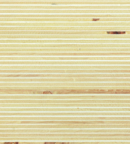 Plexwood® Poplar waterbased varnish finish, with the type of varnish you determine the final glossiness