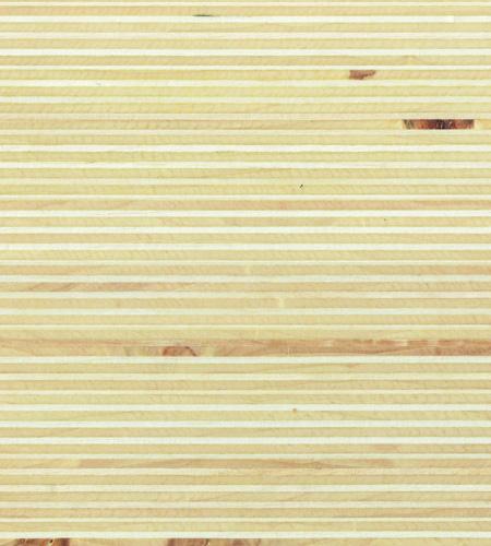 Plexwood® Álamo com acabamento em verniz à base de água, com o tipo de verniz você determina o brilho final