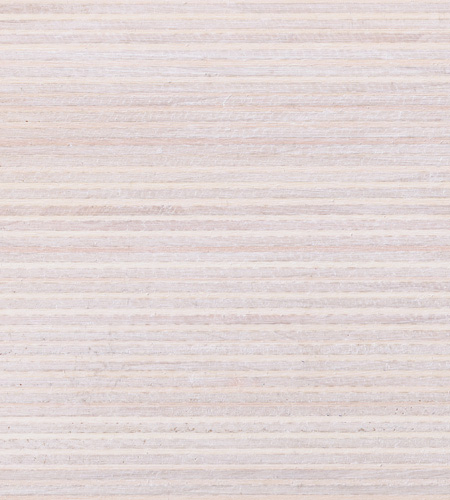 Plexwood® Poplar white wash coloured chalk wax finish, for natural surface colourations