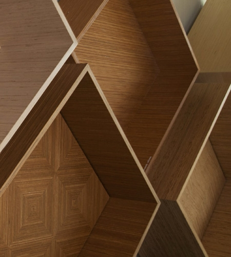Plexwood® Visit a material library to seek inspiration and samples of Plexwood