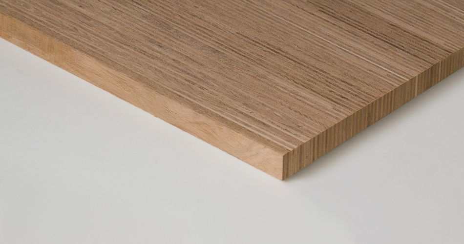 Plexwood® Solid for loose table tops and small products, such as letters and logos