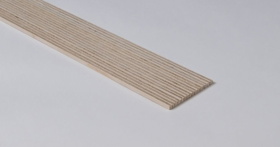 Plexwood® Strip fine zebraline performance wood, general data on production options