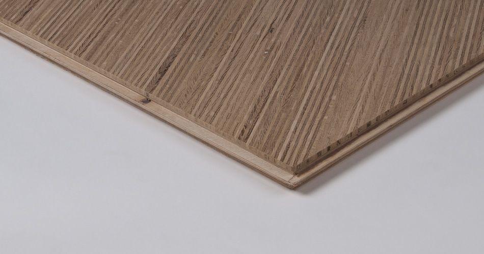 Plexwood® Motif géométrique abstrait et oriental conçu écologiquement et provenant de produit de dalle de parquet et d'un placage en contreplaqué