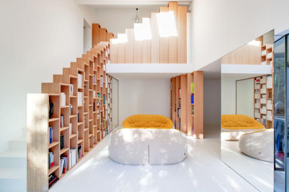 Bibliothèques, Andrea Mosca Creative studio, FR
