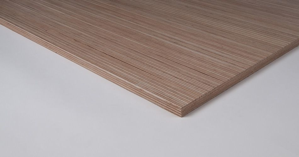 Plexwood® One-sided panels suitable for almost any technical or sustainability norm, such as fire-rated, water-resistant