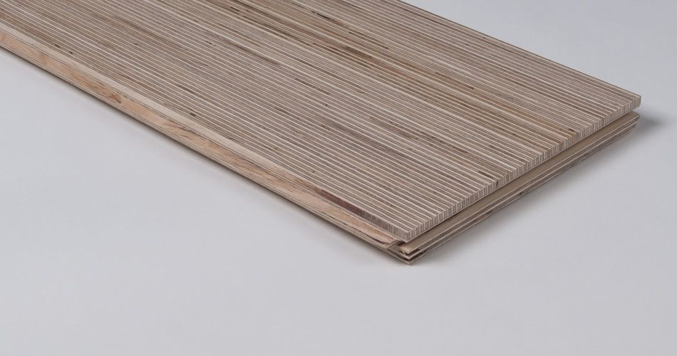 Plexwood® Plank re-assembled veneer plywood parquet for floating or fixed floors, walls and ceilings