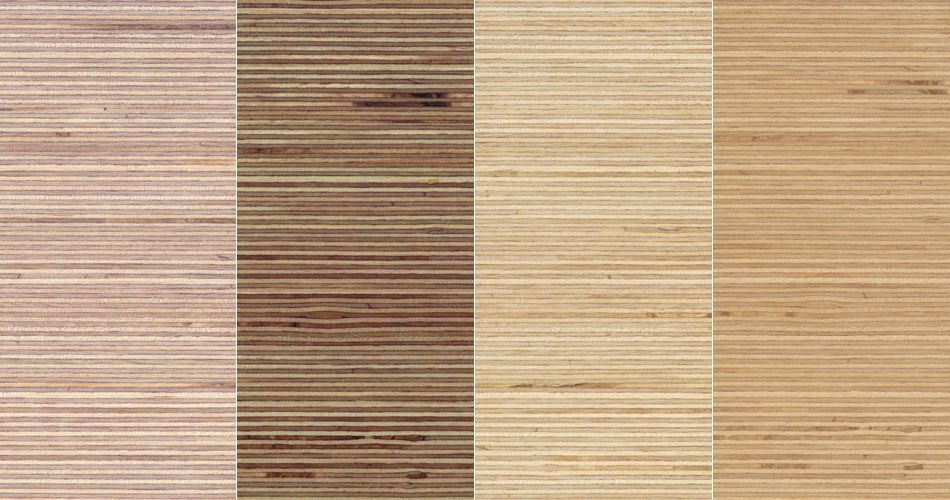 Plexwood® Birch noble sandwiched composite plywood surface veneer for hardwood applications