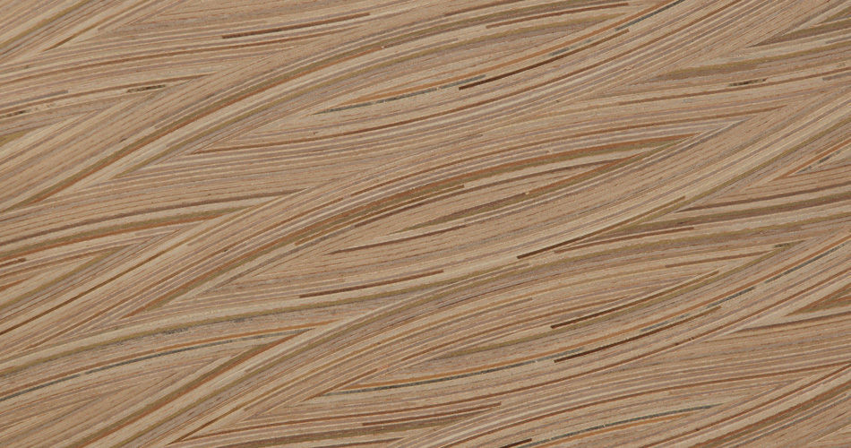 <p>Plexwood® Frank Heerema Furniture Design 3D tables made from special stacked and moulded end ply edge veneer<br