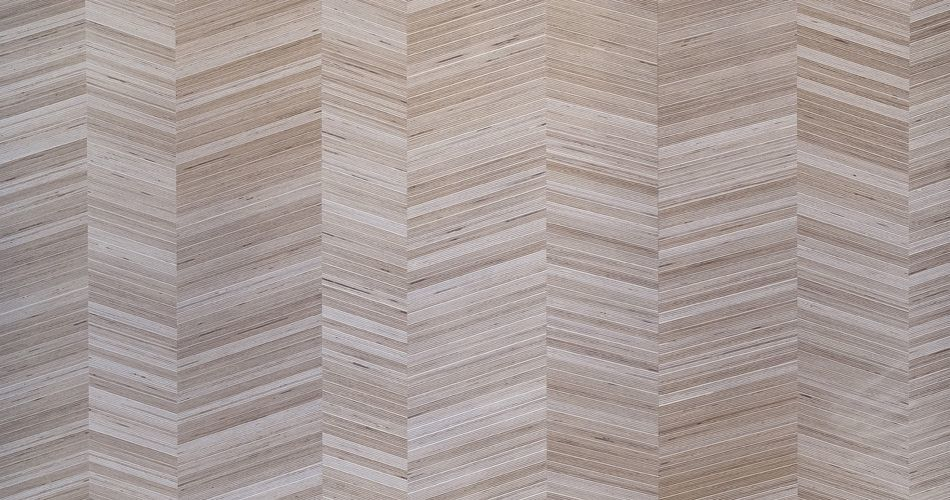Plexwood® Modern herringbone, finest inlay design veneer products with an angle of 0, 15°, 30° or 45°