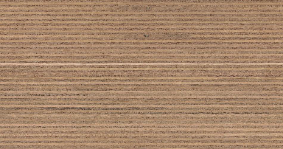 Plexwood® Дуб кросс - клеенная древесина, облицовка поверхностей возобновляемой древесиной дуба