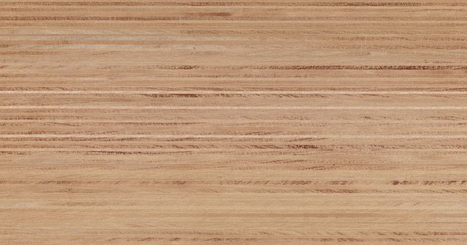 Plexwood® Ocoumé untreated finish, with the finish you determine the end colour of the wood