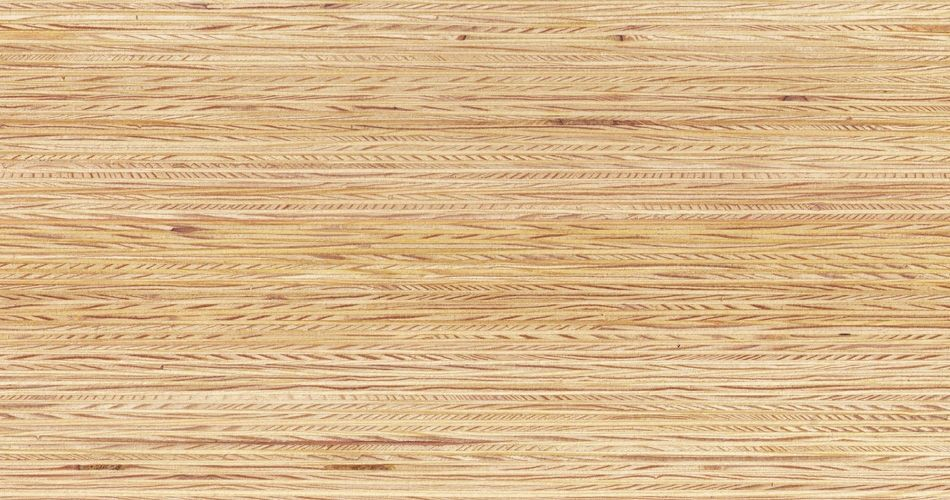 Plexwood® Pine untreated finish, with the finish you determine the end colour of the wood
