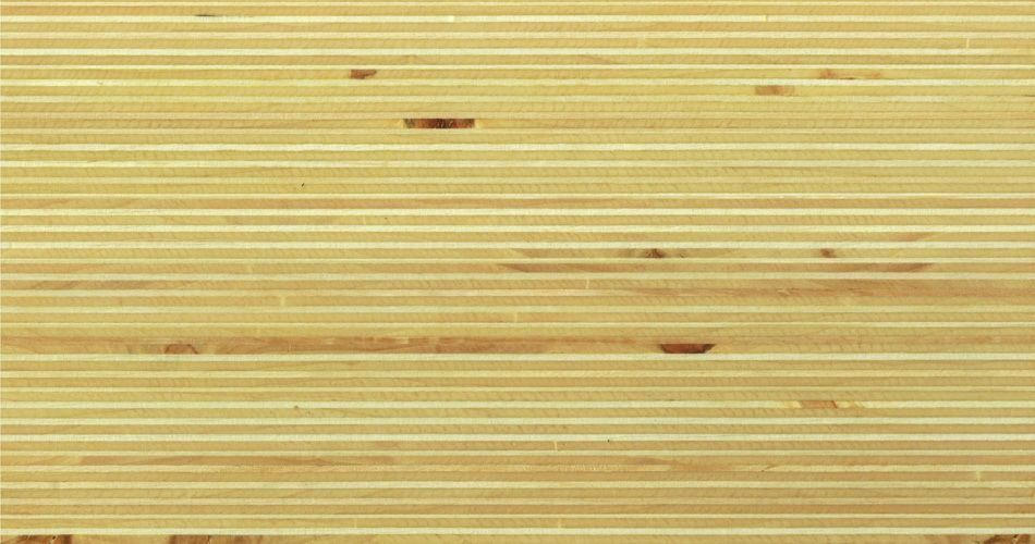 Plexwood® Poplar oil/wax finish, multiple layered plywood composite veneer