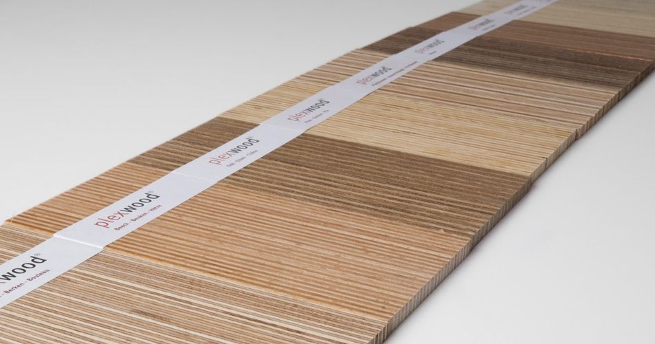 Plexwood® 9 kinds of wood, Plexwood is composed of end grain and long grain veneers