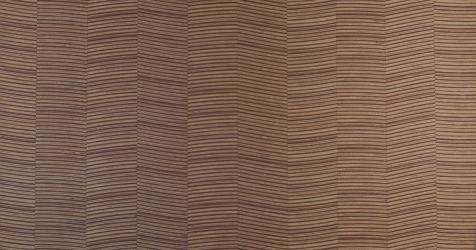 Plexwood® An example of the production options under specials, like curved veneer patterns, heavyweight or lightweight