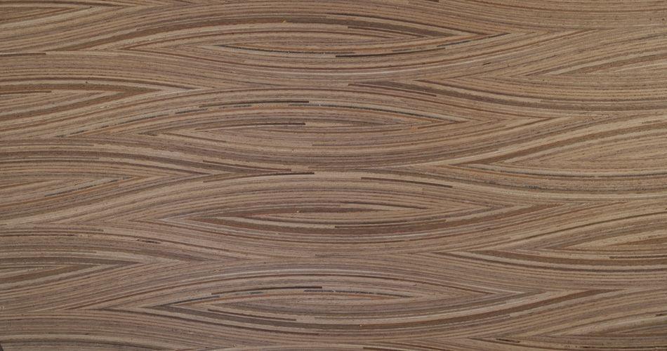 Plexwood® Placage de bois sur mesure et technolam moulé, matériaux architecturaux de bois naturel de placage décoratif