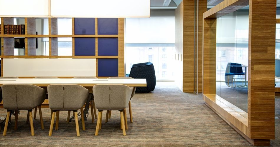 Plexwood® Co-Op Group headquarters BREEAM One Angel Square, good sourced oak veneer products